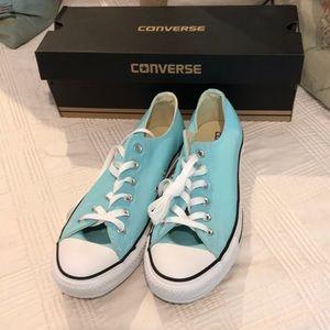 Brand new, Converse Aqua Blue